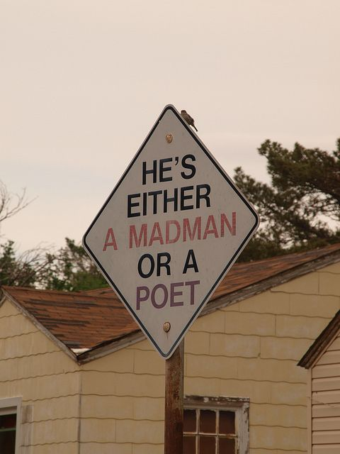 Amarillo Texas Stanley Marsh 3 Dynamite Museum plasters traffic art signs all over the city 2014
