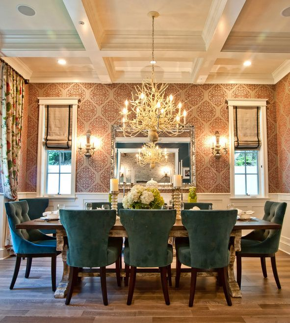 5 Easy Ways to Make your Home Warm and Cozy this Holiday Season – Damask Dining Room Chairs