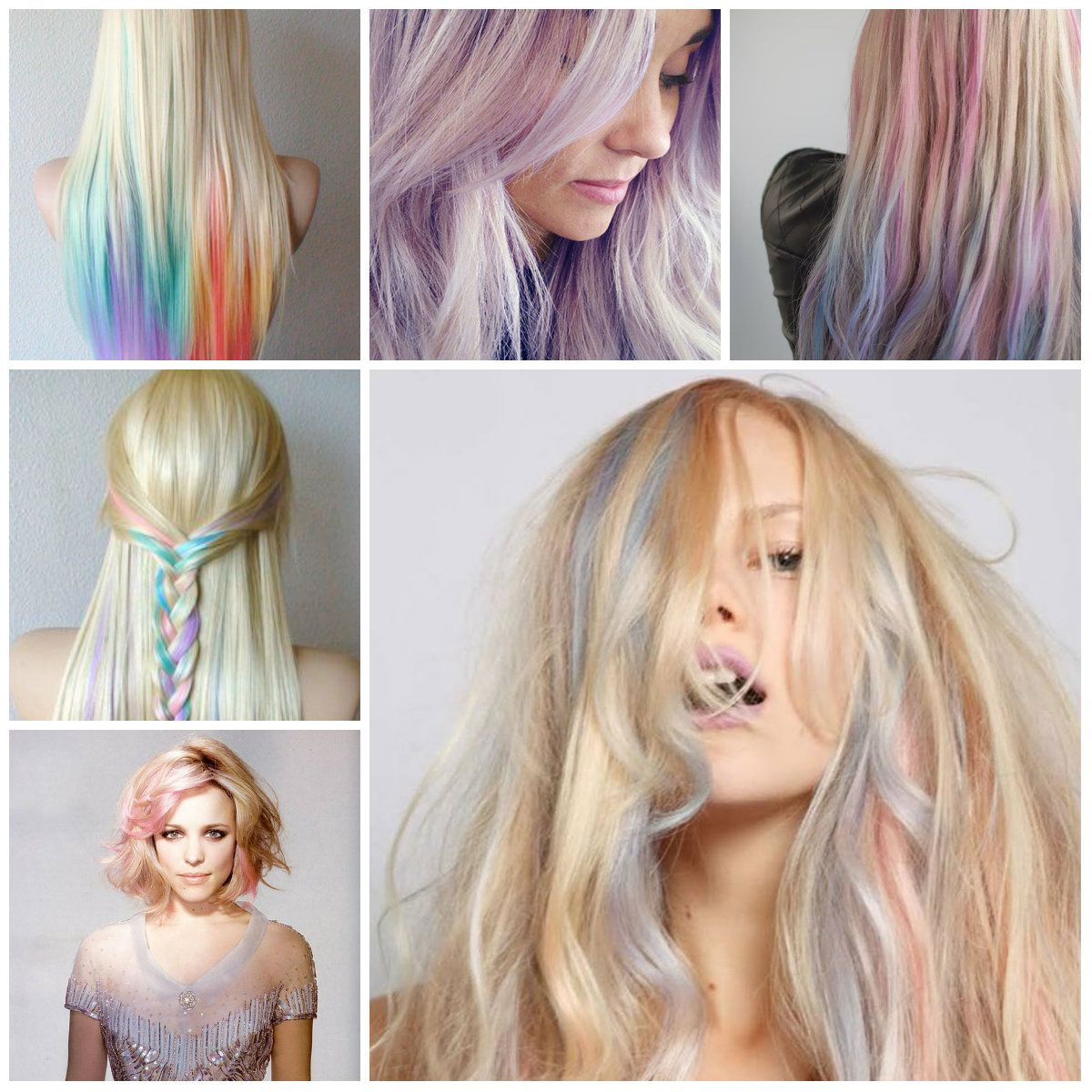 Colorful highlights for blonde hair choice image hair coloring ideas 2016 blonde hair color trends blonde with pink google search 2016 blonde hair color trends blonde pmusecretfo Images