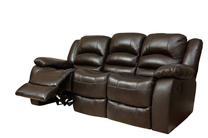 abbyson dallas italian leather reclining sofa recliner deals teal