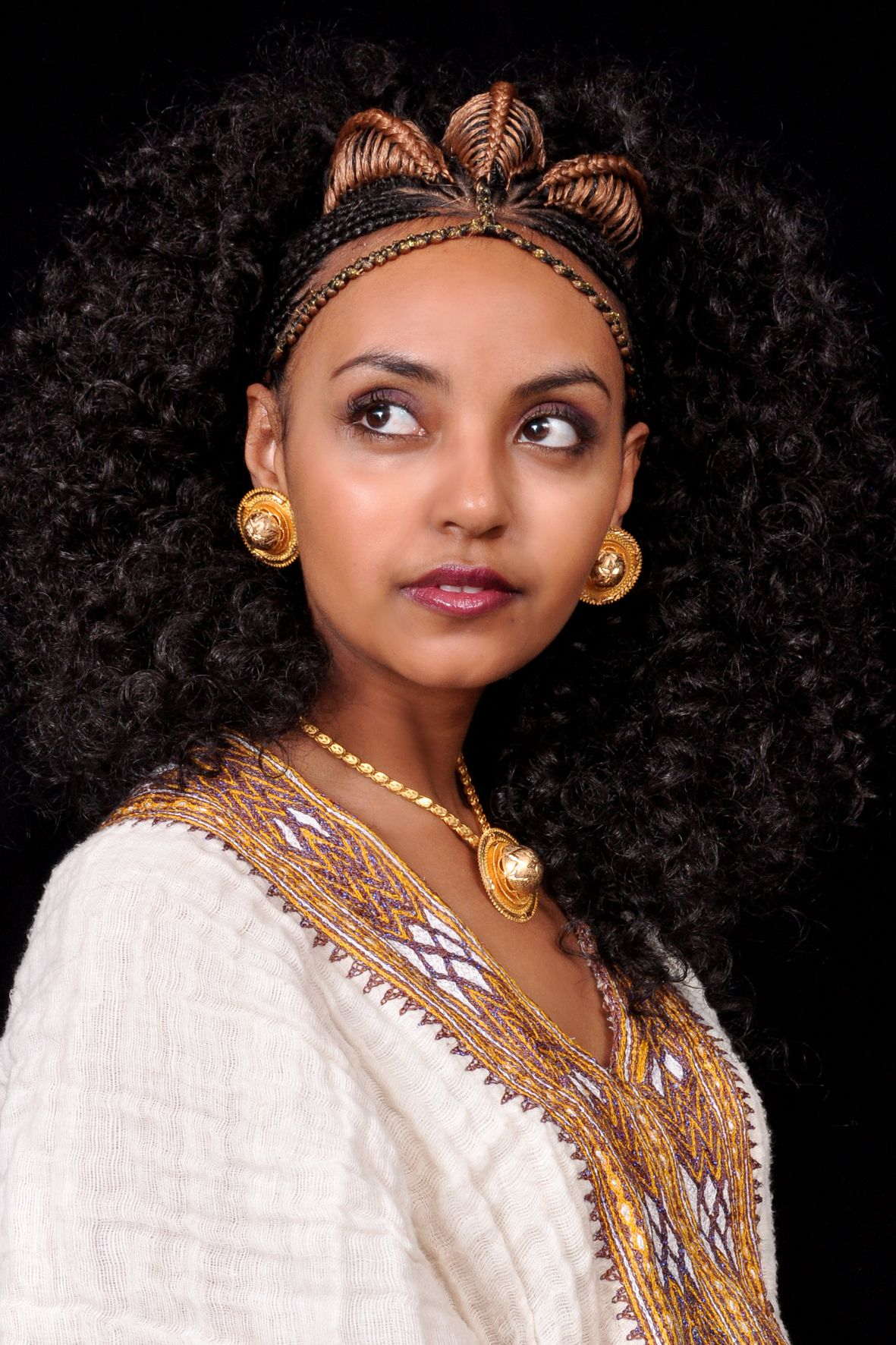Habesha Bride Cultural Hairstyles Pinterest Africans Ethiopian Beauty And Hair Style