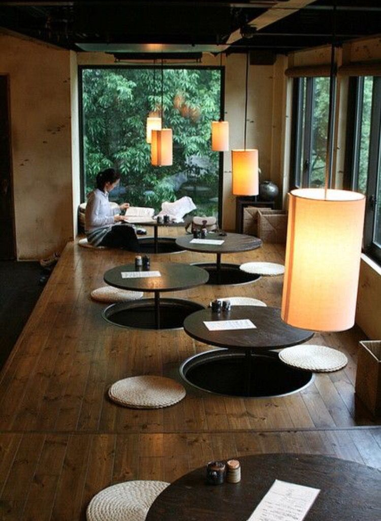 Seating Japan Japanese Interior Design Coffee Shop