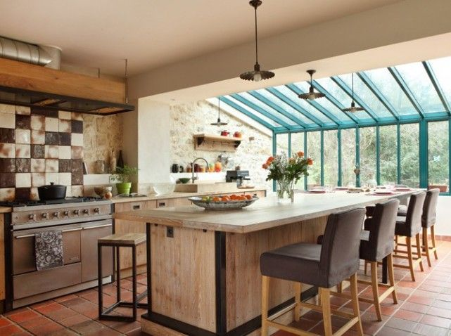 extensions de cuisine sur pinterest cuisines grises extensions de la maison et greniers am nag. Black Bedroom Furniture Sets. Home Design Ideas