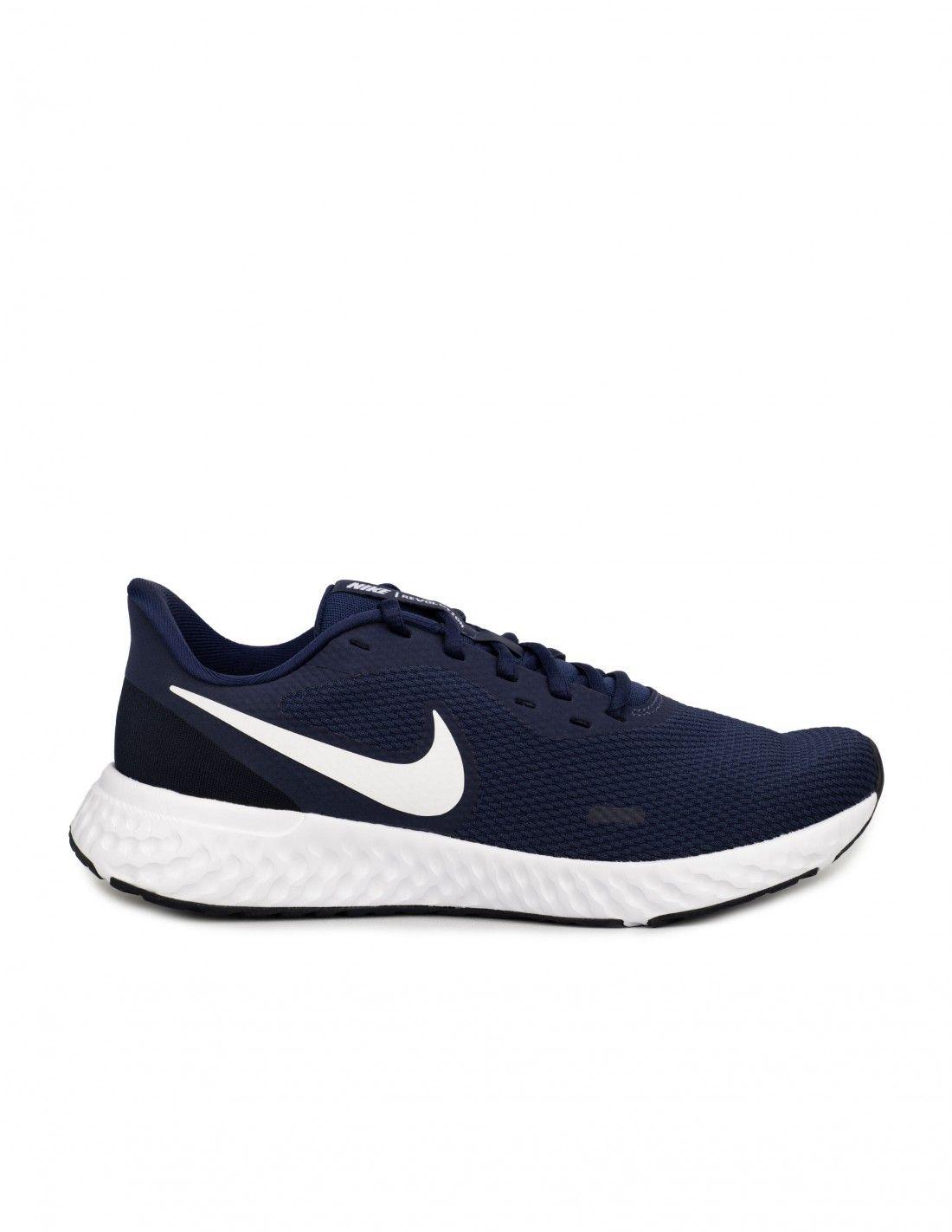 Nike Revolution 5 Azul Marino Hombre Zapatillas Nike Azules Nike Azules Zapatos Nike