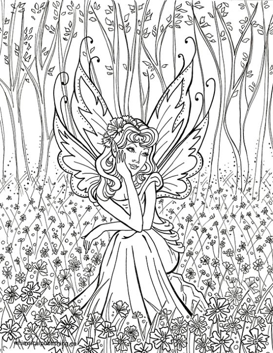 find this pin and more on coloring books for adults by unibulpress posts about fairy coloring pages on