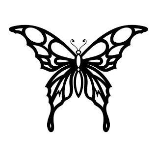 Tattoos Butterfly Tattoo Stencils Butterfly Stencil Butterfly Outline Tribal Butterfly Tattoo