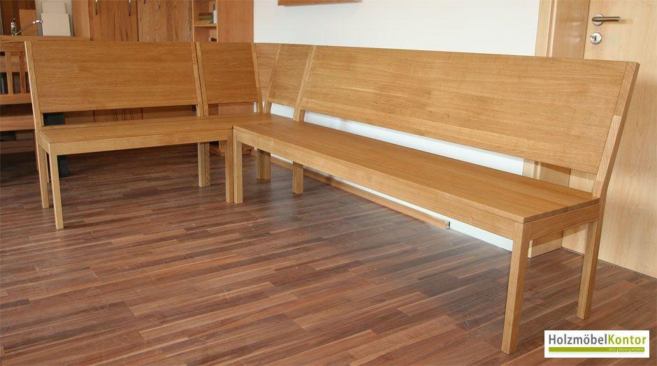 Eckbank-eiche-massiv.jpg | Eckbänke | Pinterest Eckbank Holz Modern