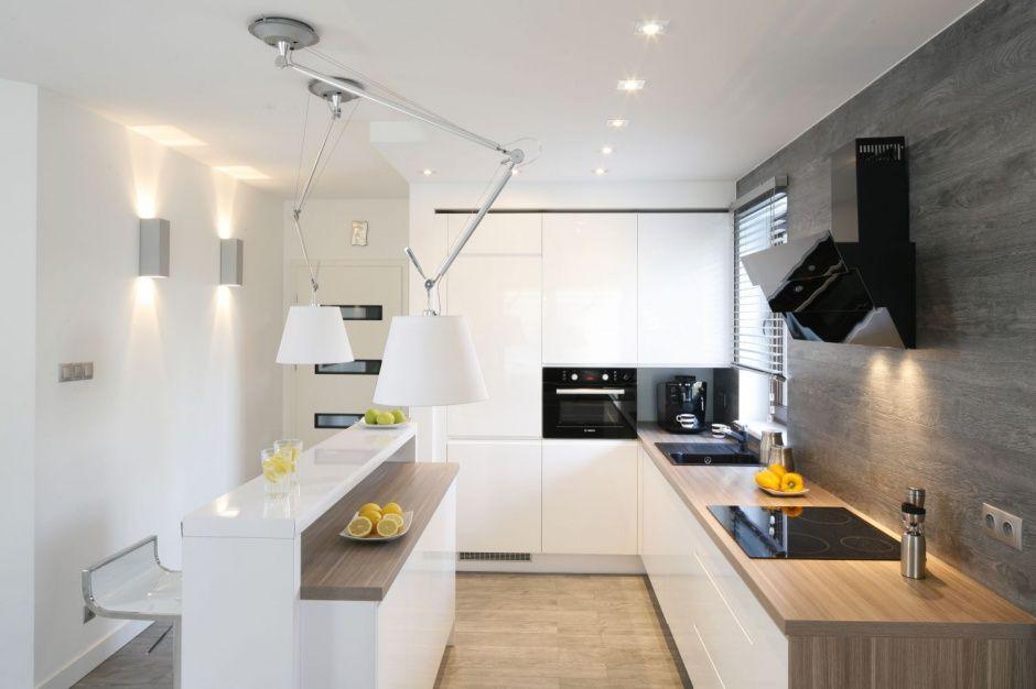 Modna Kuchnia Postaw Na Szarosci I Beze Kitchen Interior Home Kitchens Small Kitchen