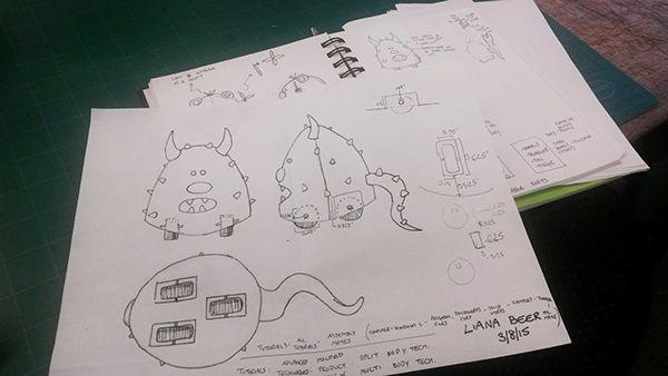 Smoot: Wheelie Monster Toy on Behance