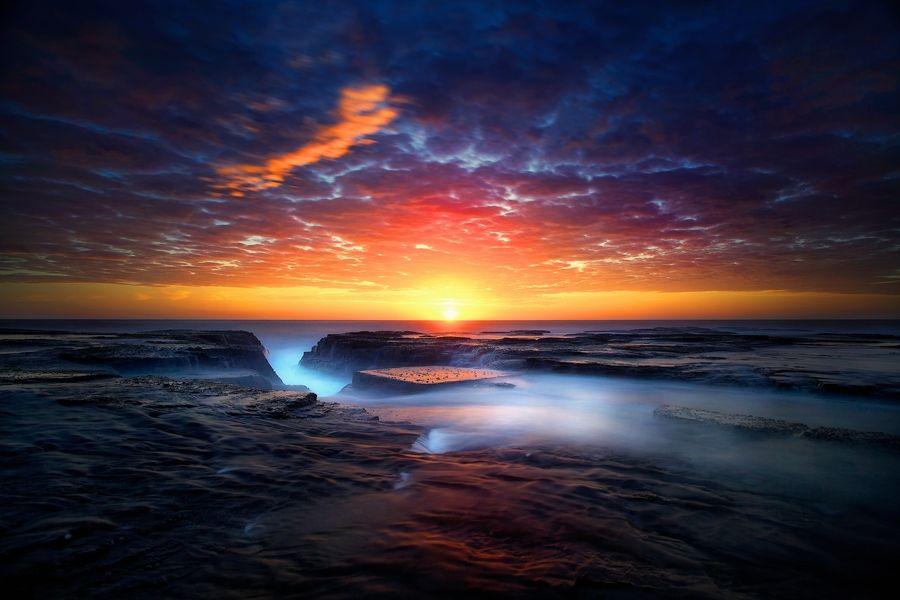 Narrabeen Sunrise By Noval Nugraha Via 500px Sydney Australia