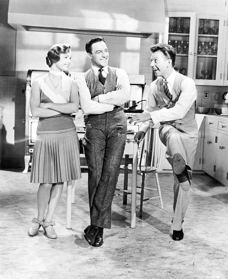 Debbie Reynolds, Gene Kelly, Donald O'Connor Singin in