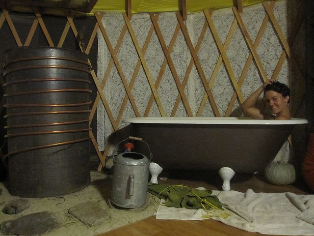 A Bathtub With Hot Water The Deliberate Hovel Rocket