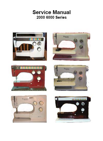 Husqvarna Viking Sewing Machine Repair Manual