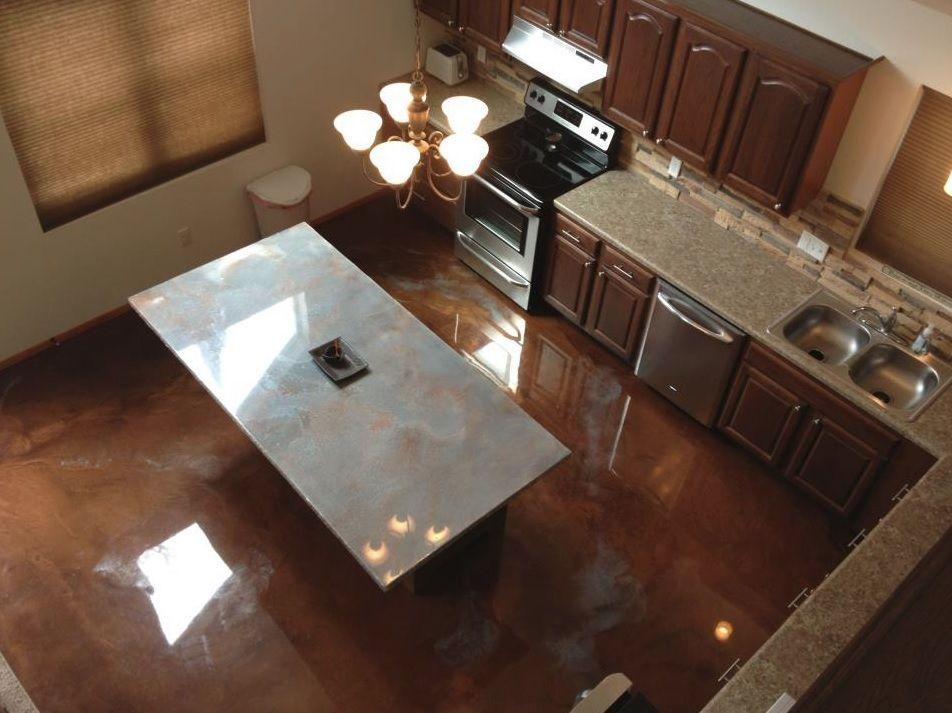Metallic Epoxy Flooring Tucson Arizona Marvelous Marble