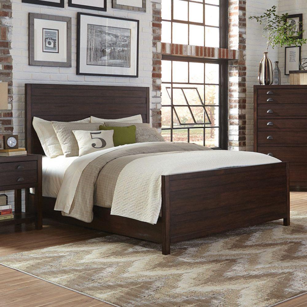 Donny Osmond Lanchester California King Panel Bed