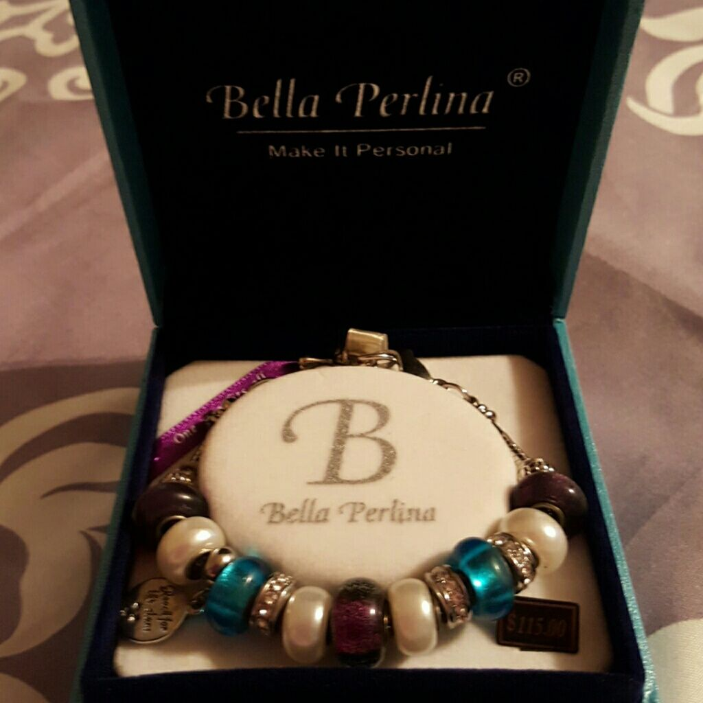 Bella perlina charm bracelet products