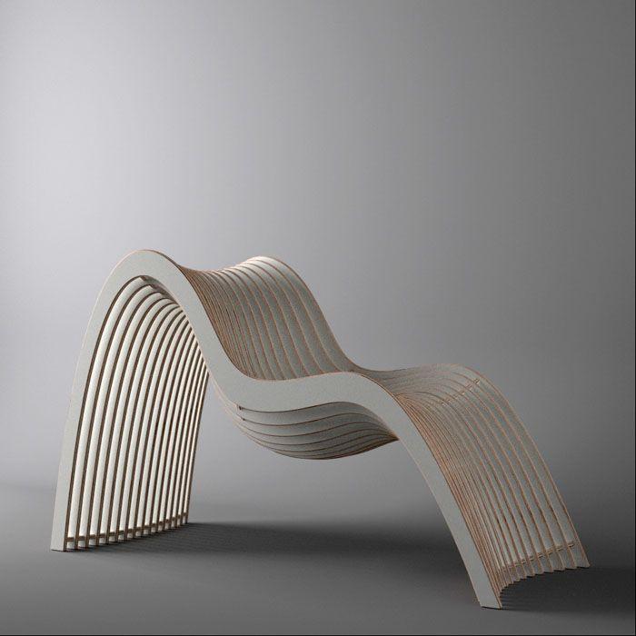 Present From Unto This Last Curved Furniture Organic Furniture Furniture Design Modern