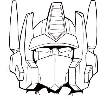 if i go through with my optimus prime tattoo im still sticking with this design that i had for awhile now optimus prime coloring pages - Optimus Prime Face Coloring Pages