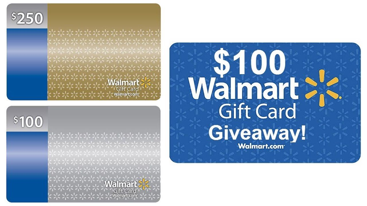 Free Walmart Gift Card Codes - Online Gift Card! | Discount Deals ...