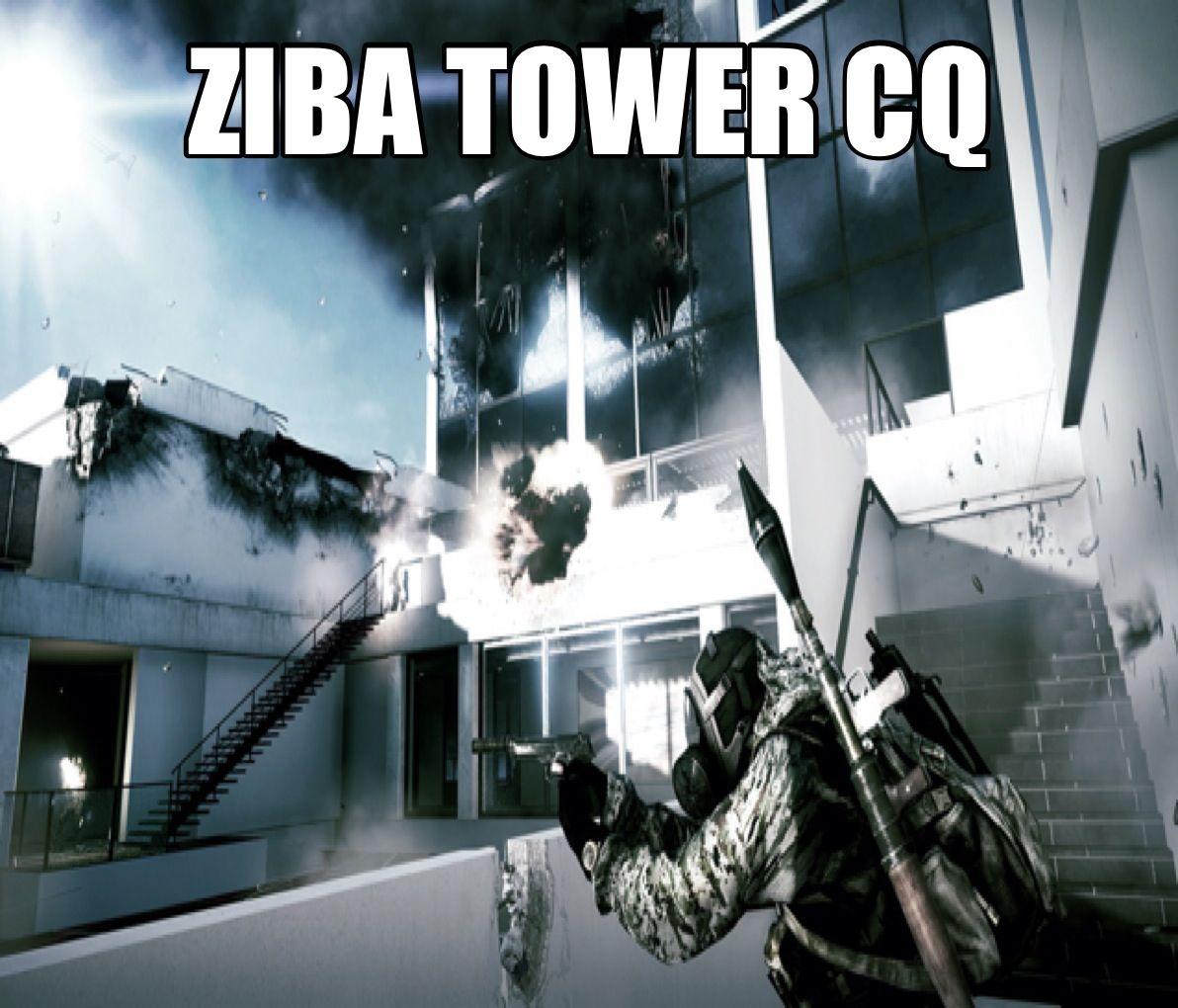 Ziba Tower CQ map Battlefield 3