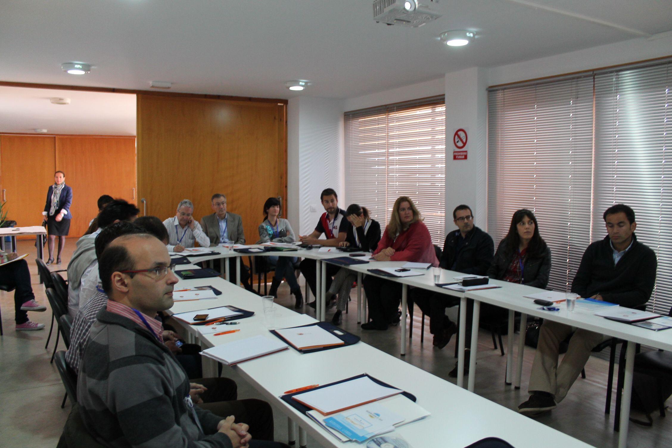 Grupo de alumnos 1ª edición: 20 técnicos procedentes de organismos públicos y empresas privadas de toda España y Portugal.