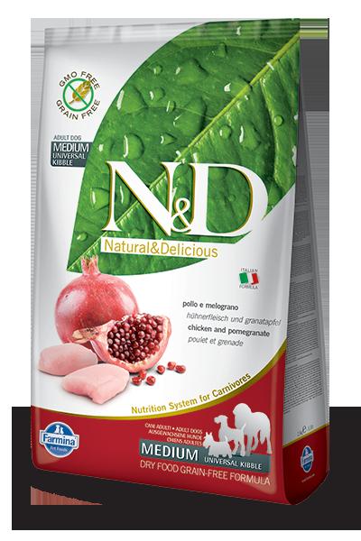 Chicken & Pomegranate Adult Medium Dog food recipes
