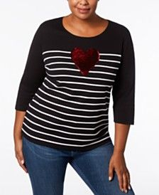 fe978f79fa4f3 Plus Size Tops - Womens Plus Size Blouses   Shirts - Macy s ...