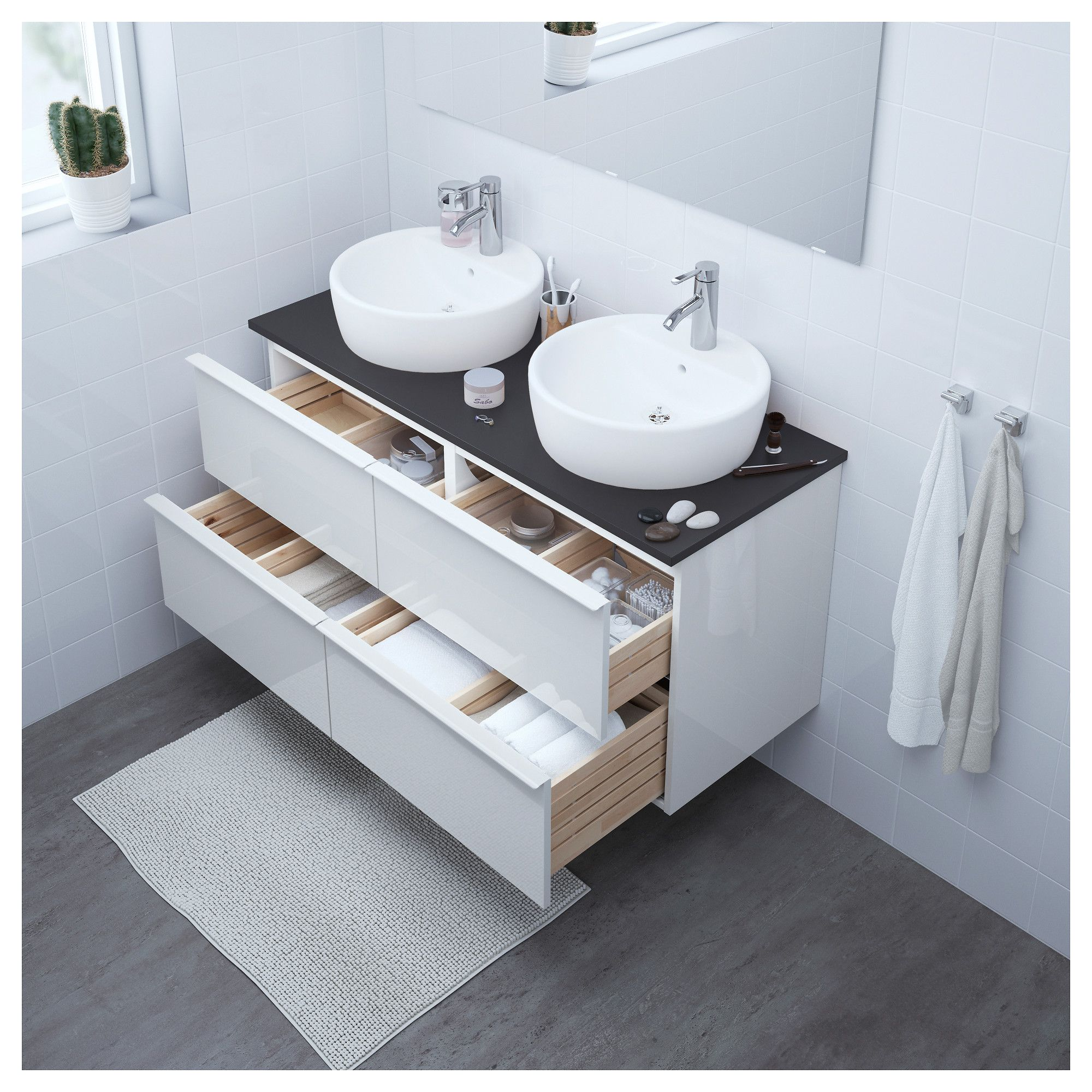Furniture and Home Furnishings | Ikea sinks, Bathroom sink ...