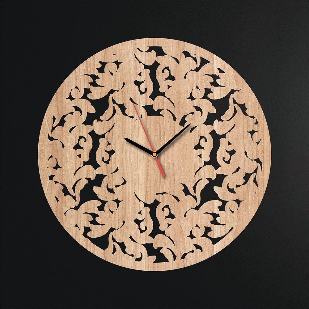 Rustic Handmade Gift For Friend New Year Gift Room Design Christmas Gift Abstract Silent Clock Minimalist Wooden Wall Clock Modern Clock #HandmadeDecor #PlywoodDecor #AbstractDesign #XmasGift #ModernWallArt #MinimalDecor #WoodenWallDecor #ChristmasGift #WallClock #NewYearGift