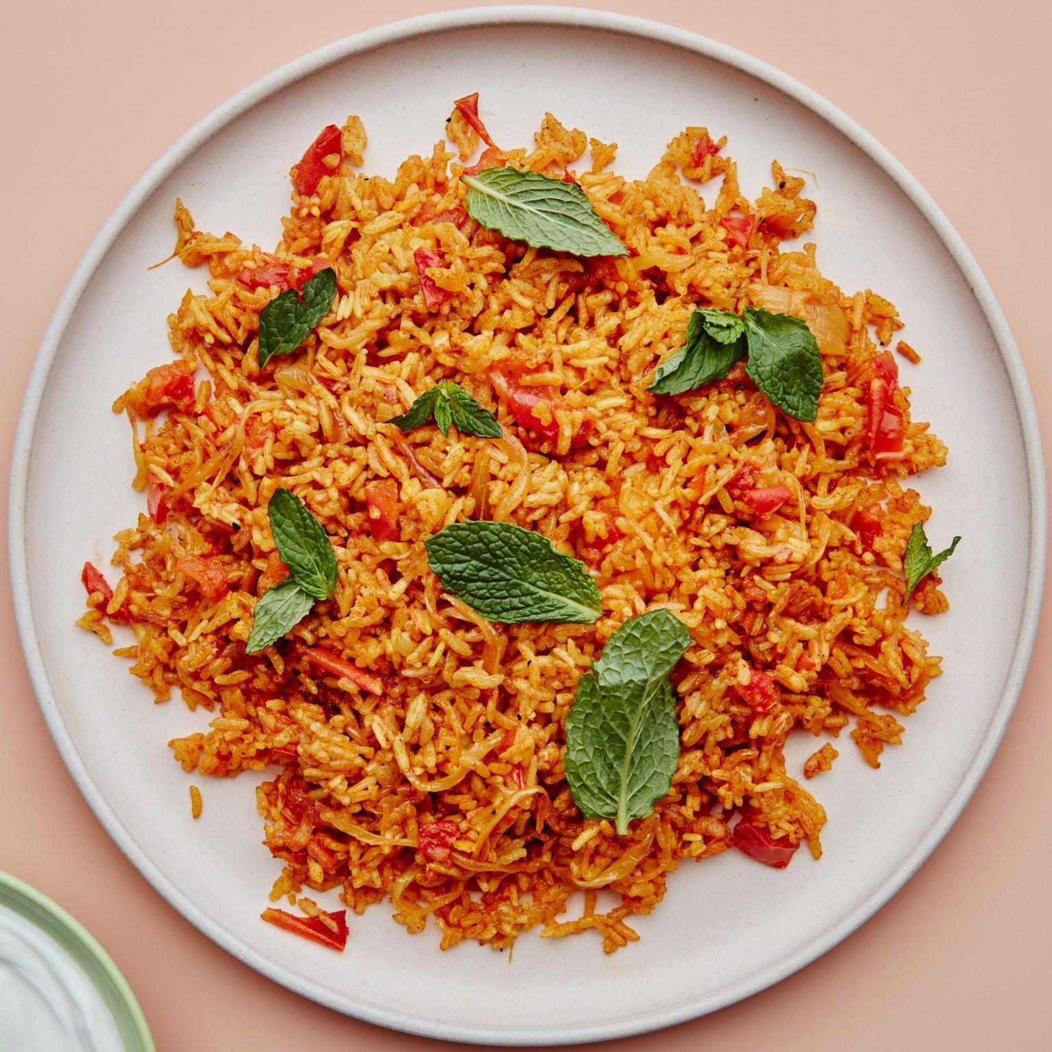 Buttery Tomato And Cinnamon Spiced Rice Recipe Bon Appetite Recipes Tomato Rice Comfort Food