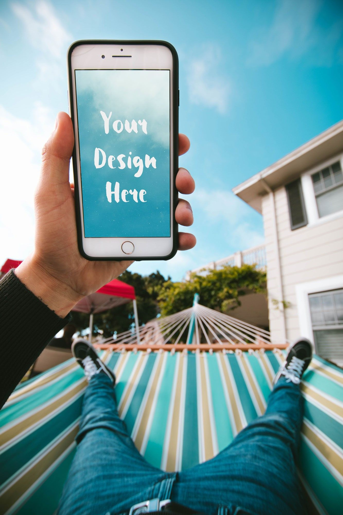Download Iphone In The Hand Of A Guy In A Hammock Instagram Marketing Digital Marketing Strategy Online Marketing Tools