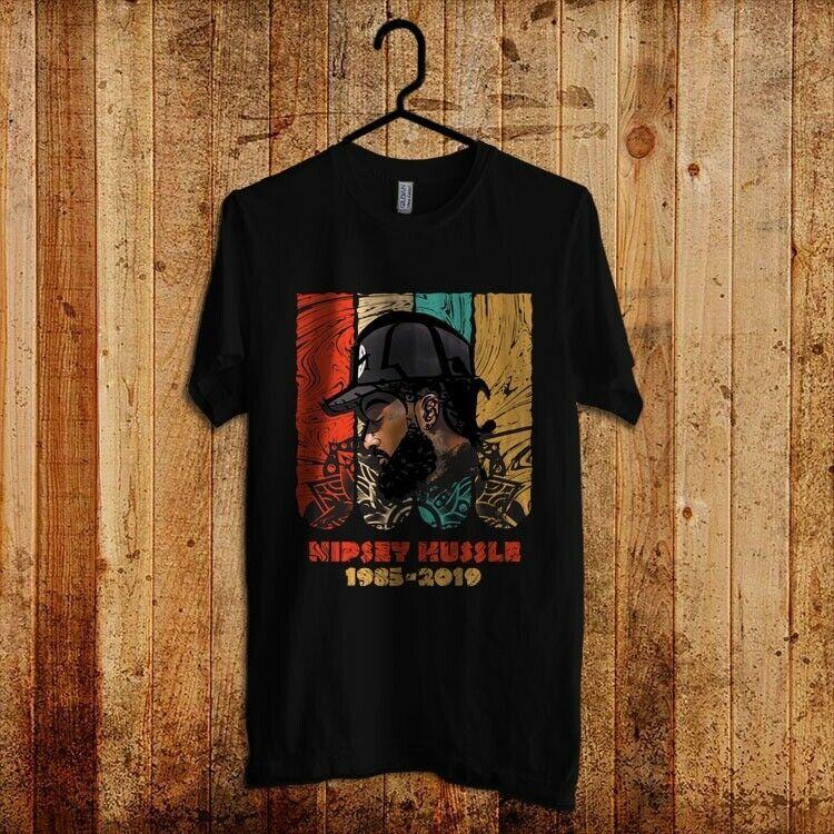 35de8cb7 Nipsey Hussle Rip T Shirt Rapper HipHop Lovers Men's Black Size M-2XL  #fashion #clothing #shoes #accessories #mensclothing #shirts (ebay link)