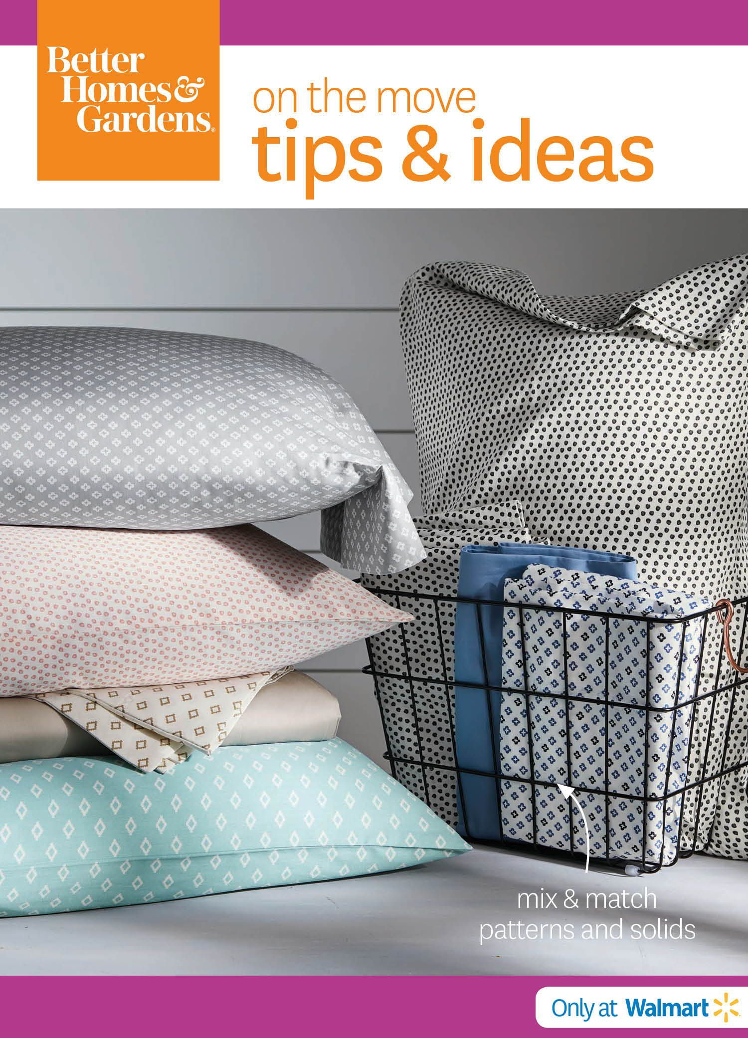 Better homes and gardens thread count sheet collection tips
