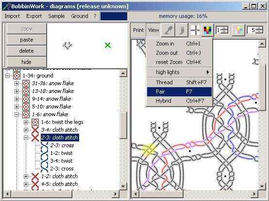 Bobbinwork - desktop applicatie om variaties op een beperkt aantal klassieke gronden en bandjes te maken