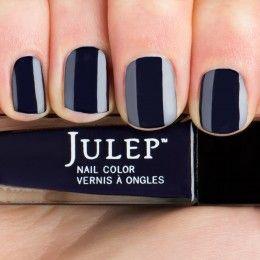Thumbnail swatch of Midnight blue crème Nail Polish
