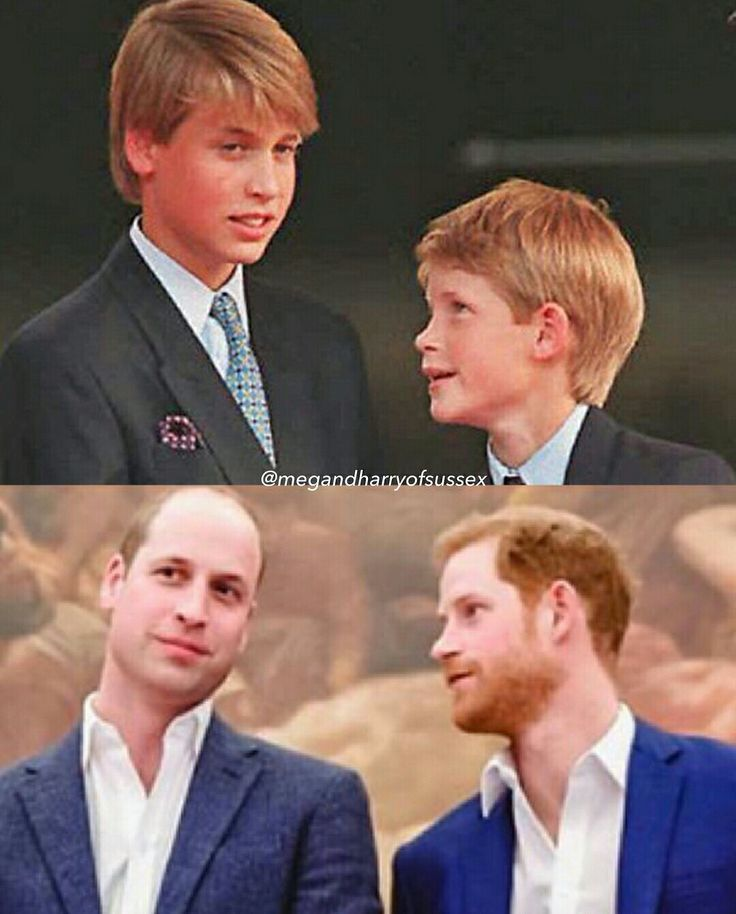 The Evolution Of Prince William And Prince Harry
