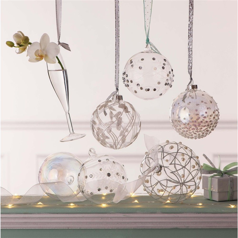 Boule De Noel Transparente A Decorer à j'adore la boule coupe de champ | déco noel | pinterest | la boule