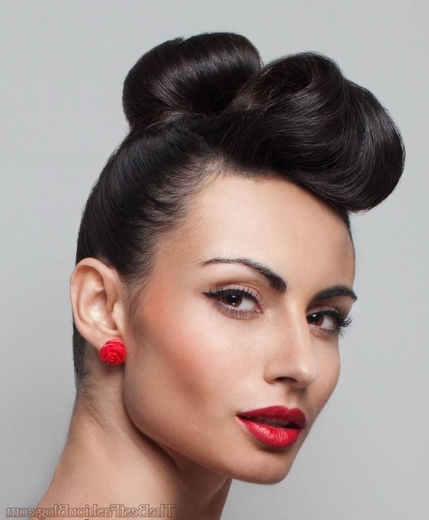 vintage updo hairstyles for long hair vintage hairstyles