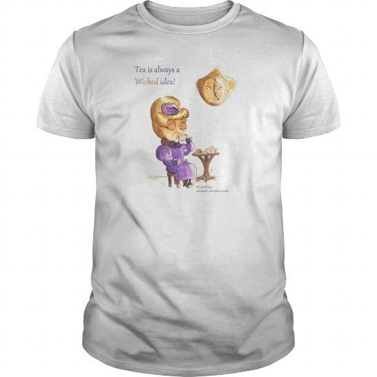 Cool  Tea Time Wicked Witches Shirts & Tees