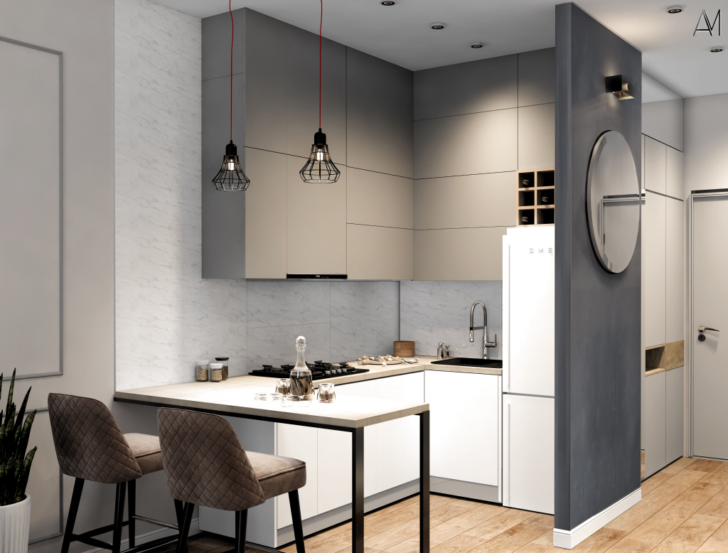 10 Layouts Perfect For Your Little Kitchen Kitchencabinets In