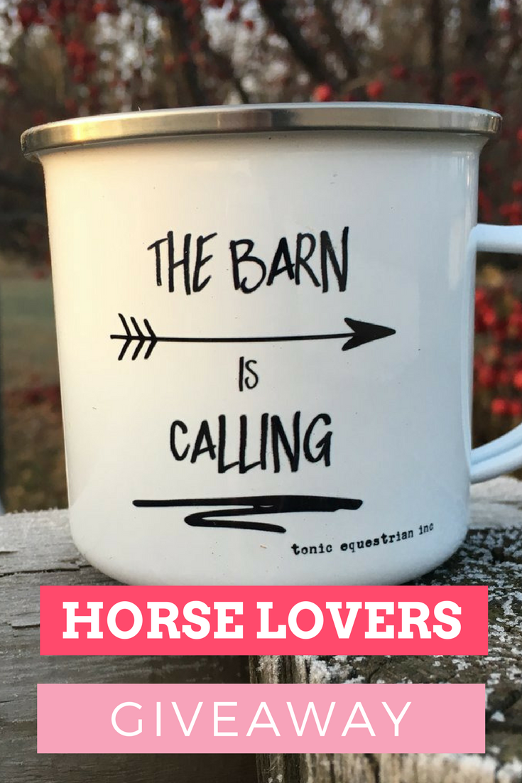 Do you want to win a Tonic Equestrian Horse Lover package? I am partnering with Tonic Equestrian to bring you the #loveyourhorse giveaway! Check out my Facebook page on how to enter!!