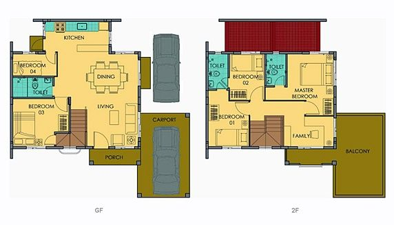 Freya Floor Plan House And Lot In Vista City Craftsman Floor