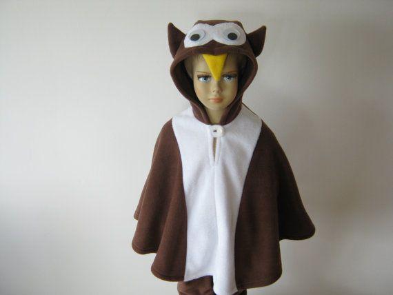 eule braun halloween fasching  kostüm cape für von bighead5005