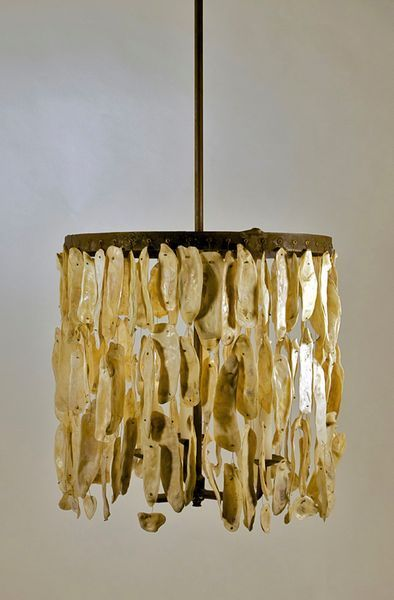 Oyster Shell Hanging Fixture Made In The Lowcountry Light Oyster Shell Chandelier