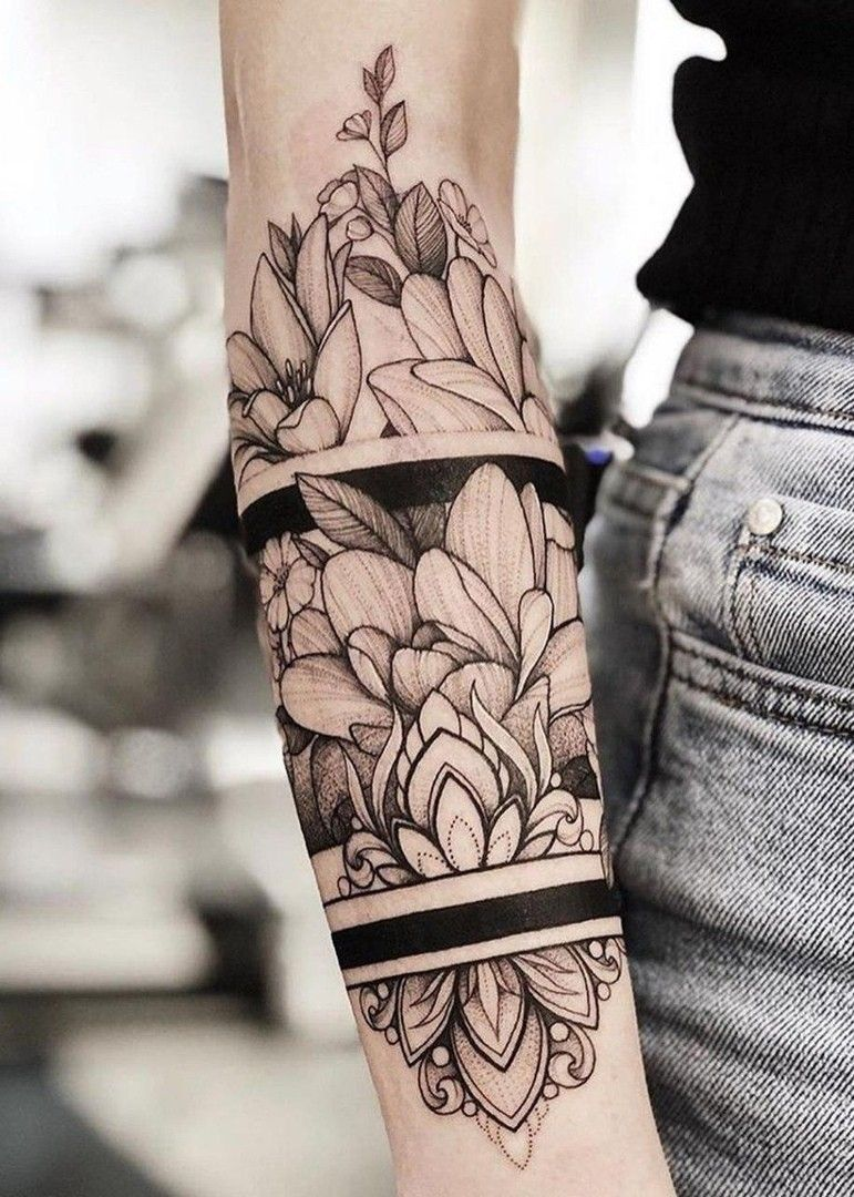 Pin by Jessica RyAnn on Tattoo in 2020 Arm band tattoo