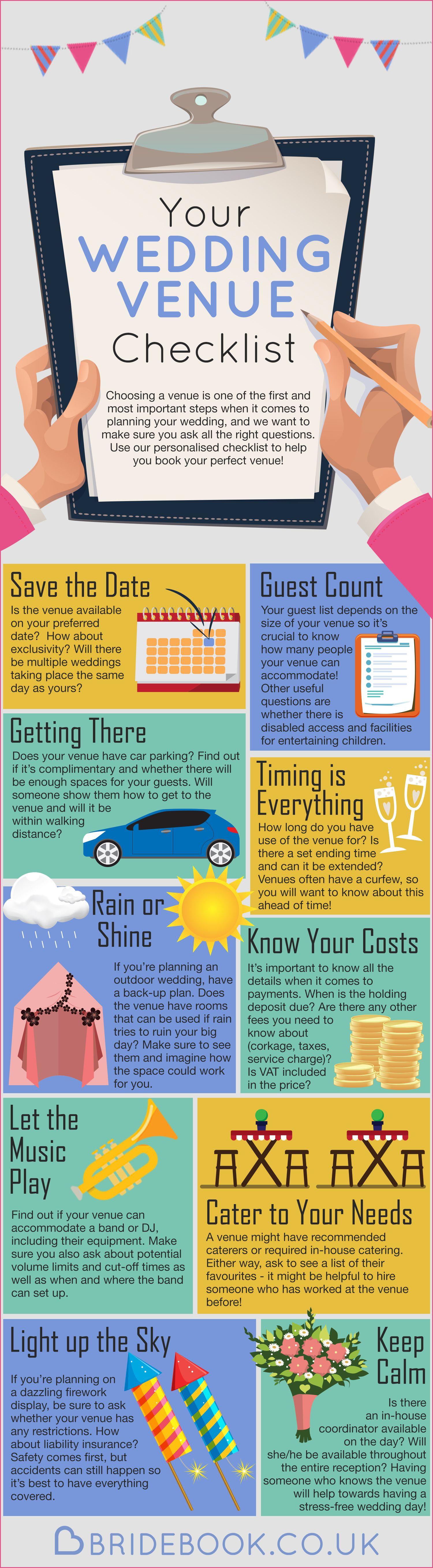 Introduction Your Wedding Venue Wedding ChecklistsWedding Planning