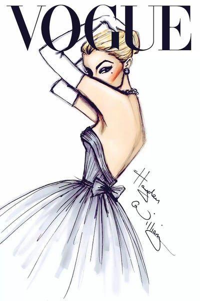 J'adore Vogue - Canvas Print