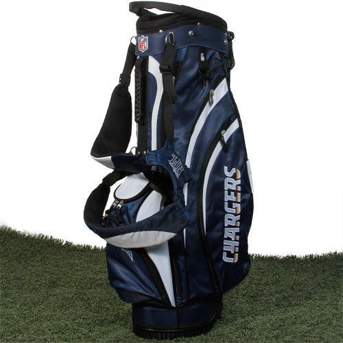 Nfl San Go Chargers Wilson Carry Golf Bag 9 X 8 Inch By