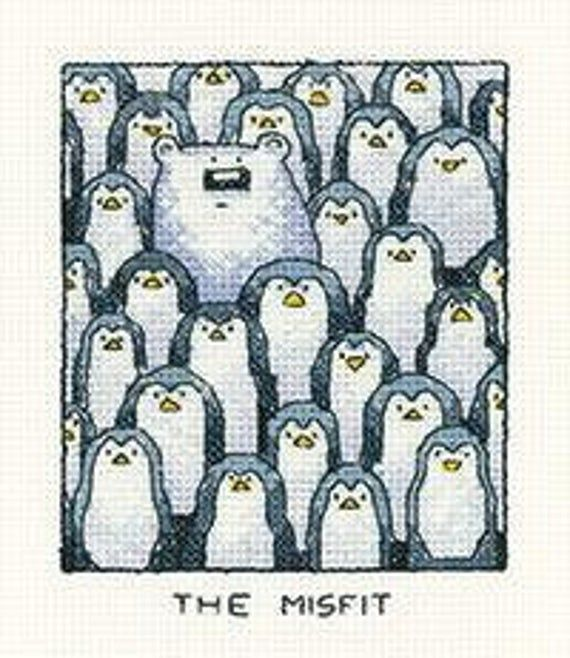 Heritage Crafts The Misfit Cross Stitch Kit