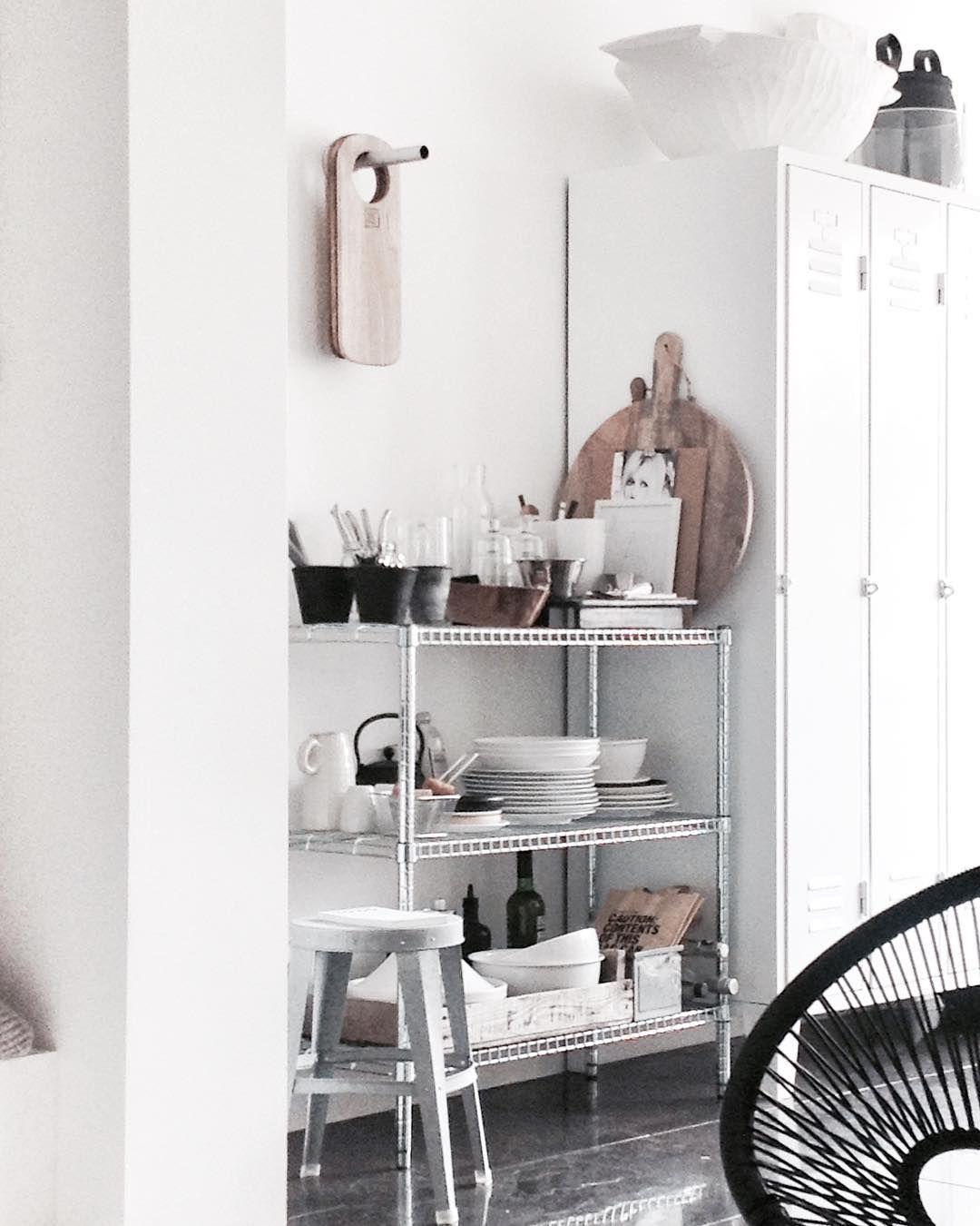 Regale in der Küche   Regale